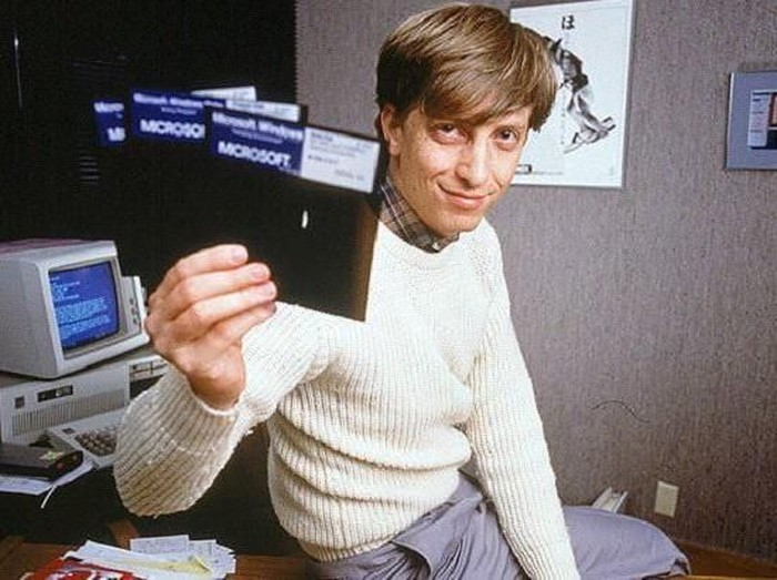 Bill Gates Muda