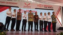 2 Tahun Bangun Pabrik, Wuling Mulai Ekspor 2.600 Almaz ke 3 Negara