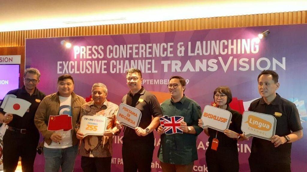 Transvision Luncurkan Channel Edukatif Lingua
