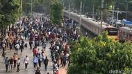KCI Hitung Kerugian Imbas Demo Rusuh di Jakarta