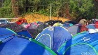 Penyewaan tenda di Gunung Luhur