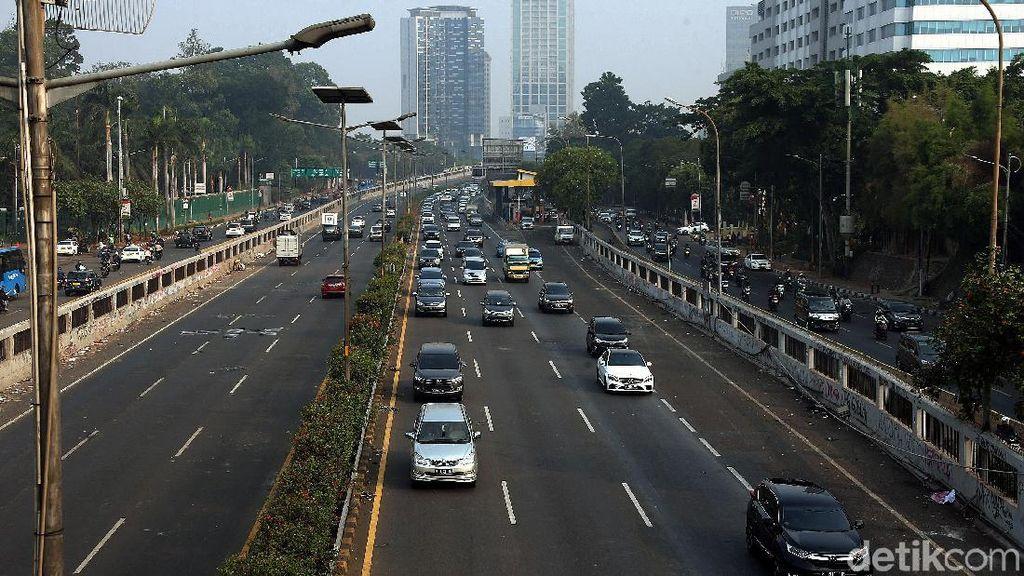 Tol Dalam Kota Kembali Beroperasi Pasca Demo