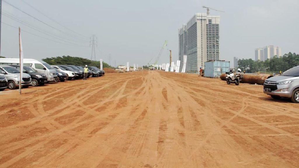 Lagi Dibangun, Ini Penampakan Proyek Tol Serpong-Balaraja 39 Km