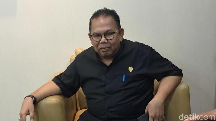 Ketua Sementara DPRD Baskami Ginting