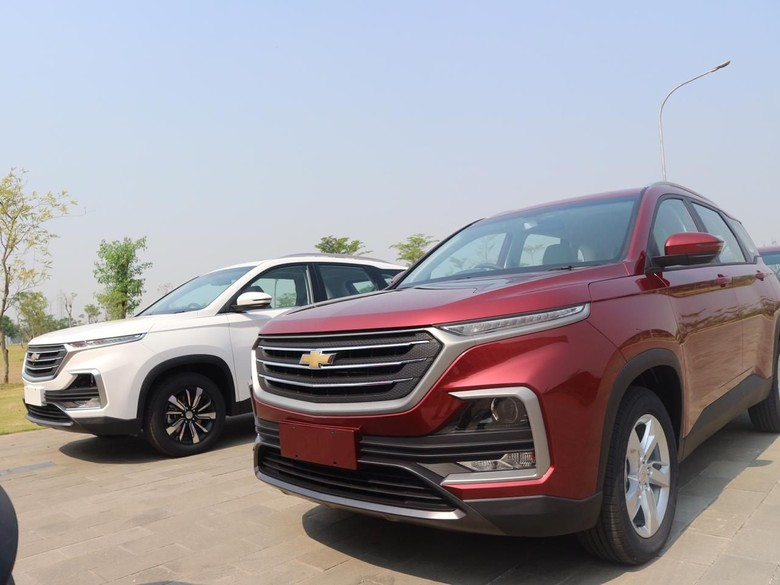 Chevrolet Captiva buatan Wuling Indonesia. Foto: Dok. Wuling Motors Indonesia