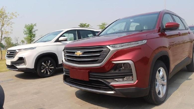 Chevrolet Captiva Foto: Dok. Wuling Motors Indonesia