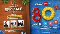 Traveloka Epic Sale Hadirkan Promo Diskon Hingga 80