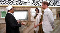 Nuansa Indonesia di Masjid Afsel yang Dikunjungi Meghan Markle