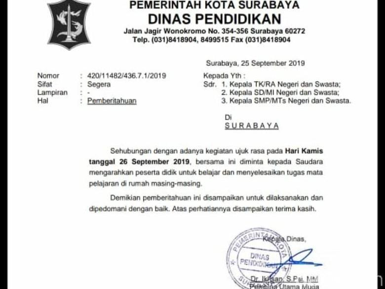 Ada Demo Mahasiswa Besar Besaran Besok Siswa Di Surabaya