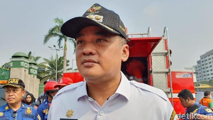 Wali Kota Jakarta Pusat Bayu Meghantara (Isal Mawardi/detikcom)