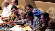 Anies dan Para Menteri Rapat Bareng DPR soal Pindah Ibu Kota