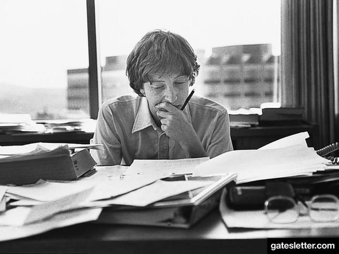 Bill Gates waktu muda. Foto: Facebook