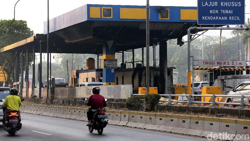 Saat Gerbang Tol Dalam Kota Tutup karena Demo, Jangan Panik Pilih Jalan Lain