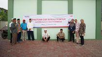 Hutama Karya Gelontorkan Rp 700 Juta Bangun Sarana Ibadah di Depok