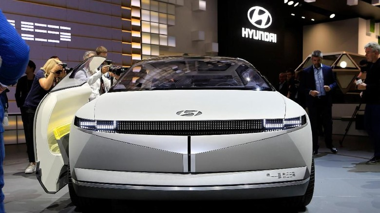 Ilustrasi mobil Hyundai Foto: Pool (Autoevolution)