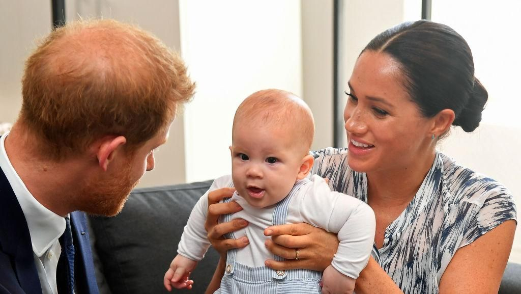 Gemas! Ini Foto Terbaru Anak Pangeran Harry dan Meghan Markle di Afrika
