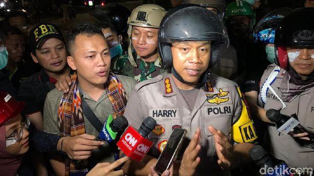 Kapolres Jakarta Pusat, Kombes Harry Kurniawan
