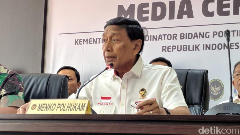 Wiranto Diserang di Pandeglang, Kapolsek Terluka Kena Tusukan