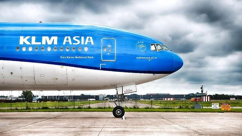 Foto: Ilustrasi 100 Tahun maskapai KLM (dok. KLM)