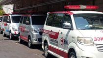 Potret Ambulans yang Disebut Bawa Batu-Bensin untuk Logistik Demo