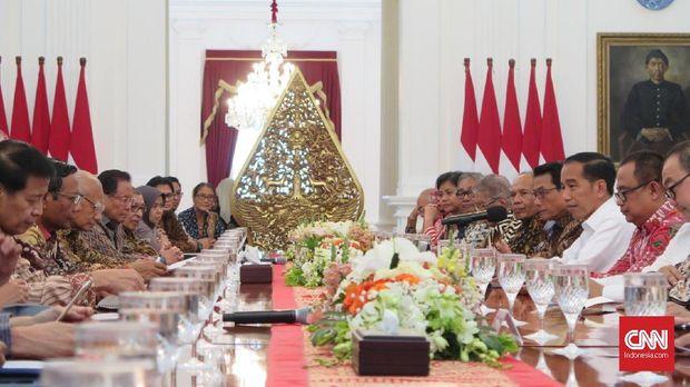 Tegaskan Hasil di Istana, Emil Salim dkk Dorong Perppu KPK