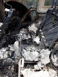Jadi Korban Demo Mobil Dibakar, Sisa Mobil Jangan Diservice