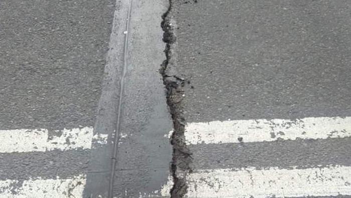Ilustrasi kerusakan gempa (Foto: Istimewa/Dok. Twitter/BNPB Indonesia)