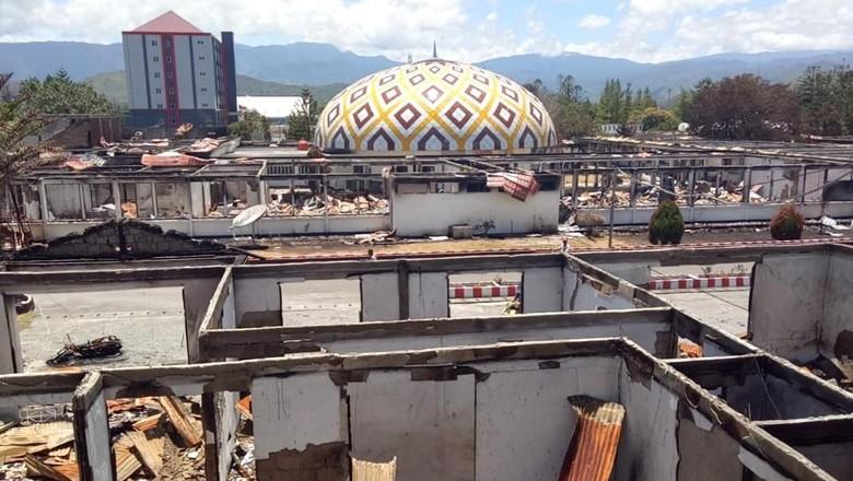 Bupati Jayawijaya soal Dampak Ricuh Wamena: 787 Bangunan Rusak