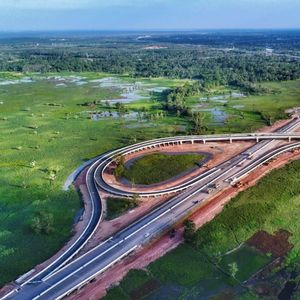 Jokowi Resmikan Tol Trans Sumatera 189 Km Sore Ini