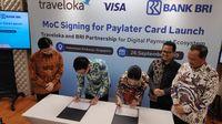 BRI-Traveloka Luncurkan Kartu Kredit untuk Traveler