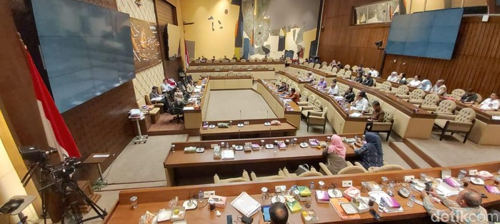 Suasana rapat DPR. Foto: Dwi Andayani/detikcom