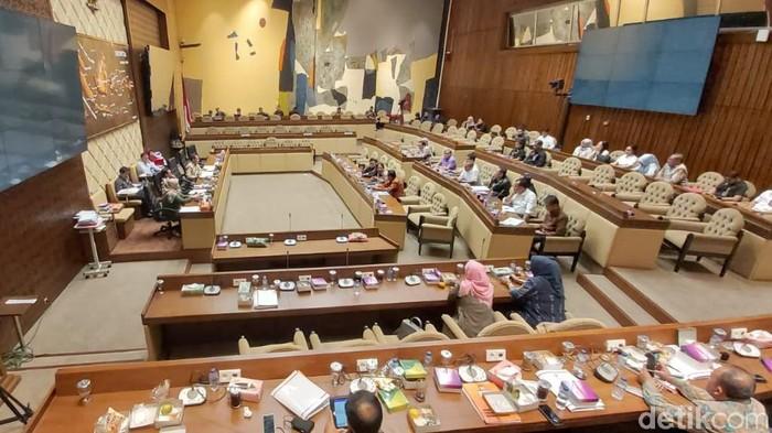 Suasana rapat di DPR (Dwi Andayani/detikcom)