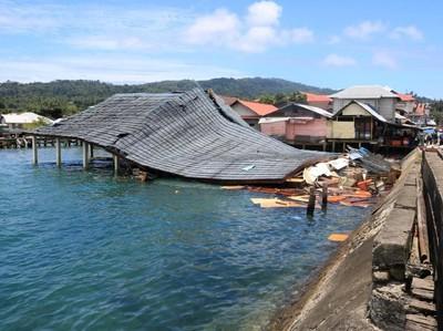 Gempa Ambon Ikut Rusak Sejumlah Infrastruktur Wisata