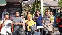 Polres Tuban Pamerkan Puluhan Kendaraan untuk Dijemput Pemiliknya