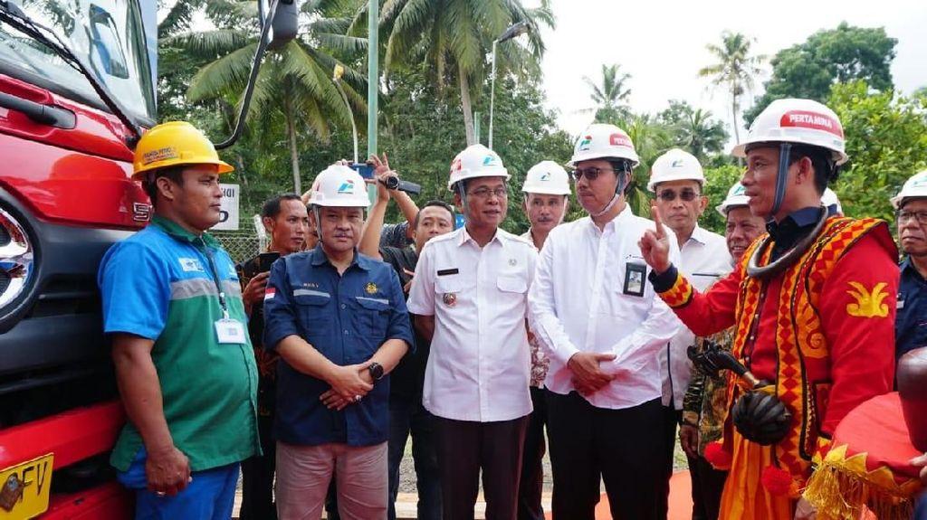 Pertamina Resmikan 6 Titik BBM Satu Harga di Kepulauan Nias