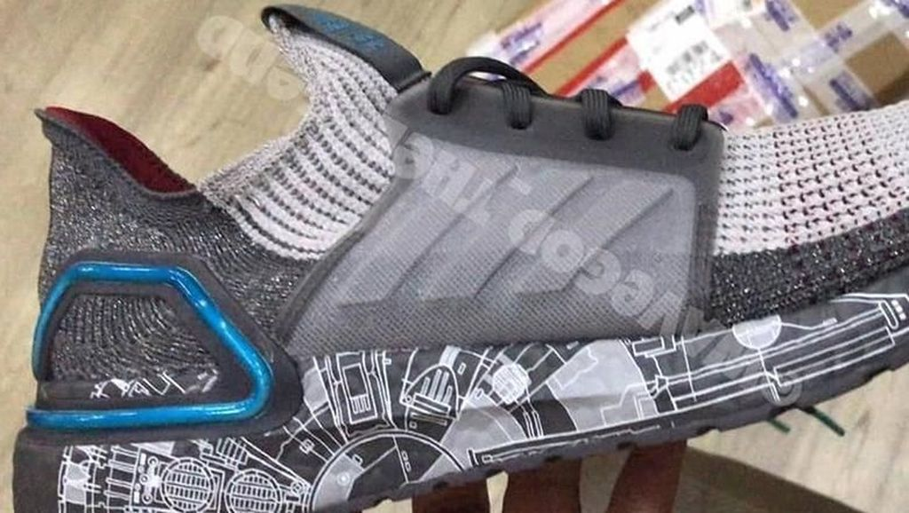 Ini Dia Bocoran Sneakers Adidas x Star Wars Millennium Falcon