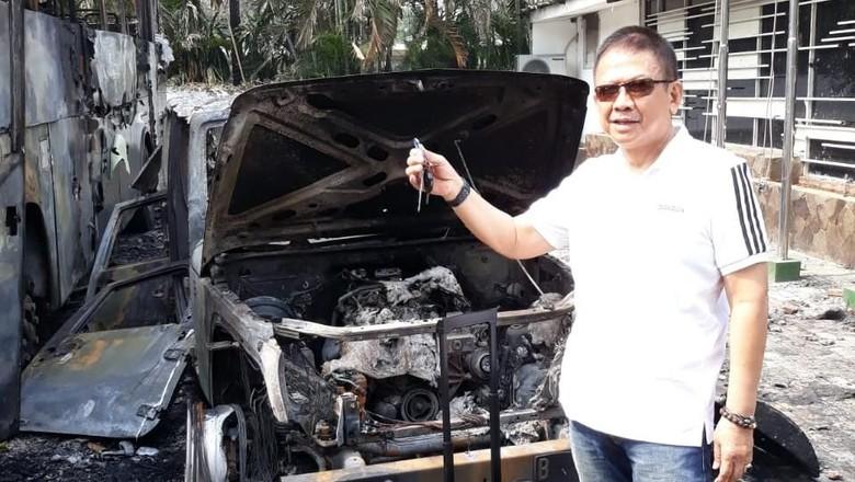 Cerita Wakil Ketua KONI soal Rubicon Miliknya yang Dibakar Massa di DPR