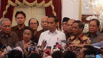 Jokowi Bersama Tokoh Nasional Bahas Karhutla Hingga Demo
