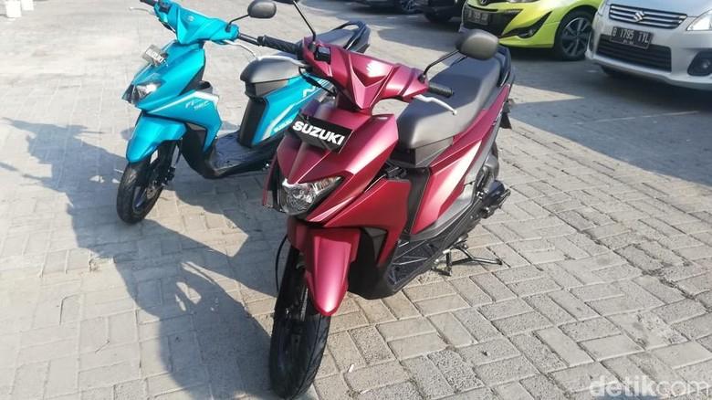 Suzuki Nex II Foto: Rizki Pratama