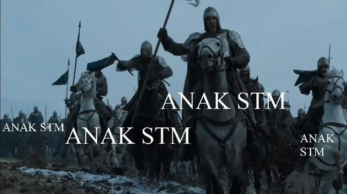 Meme Aksi Anak STM Ala Game of Thrones
