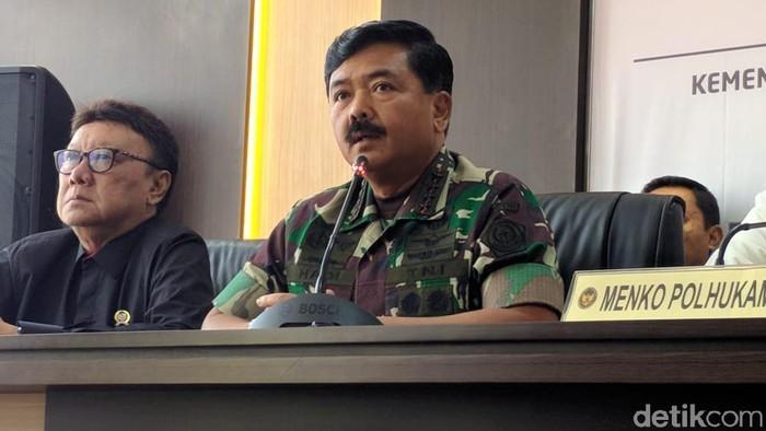 Panglima TNI Marsekal Hadi Tjahjanto (Jefrie/detikcom)