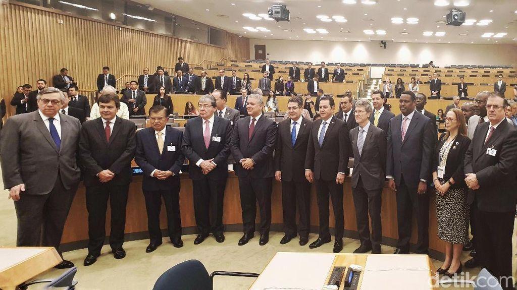 Di Forum PBB, JK Tawarkan 2 Langkah Atasi Anjloknya Harga Kopi