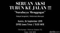 Beredar Ajakan Siswa SMK di Surabaya Ikut Demo