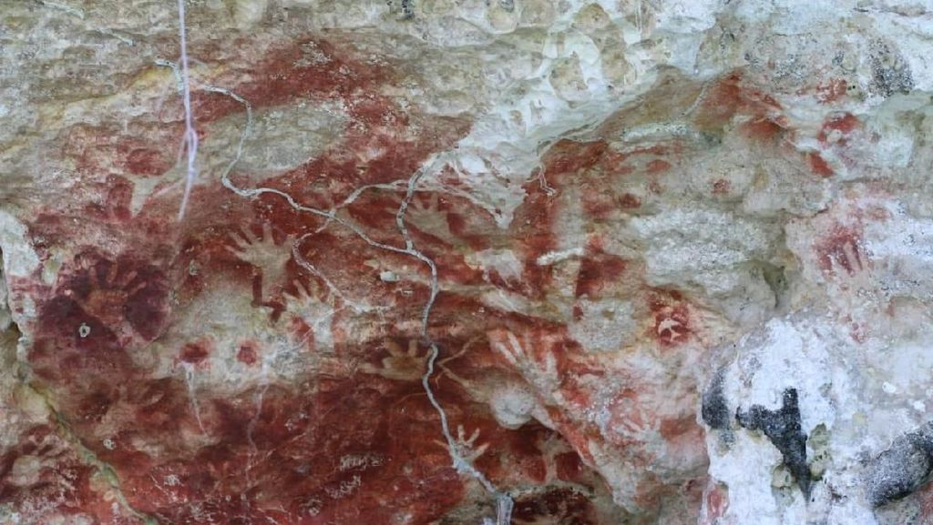 Misteri Lukisan Purba di Papua: Gambarnya Bumerang