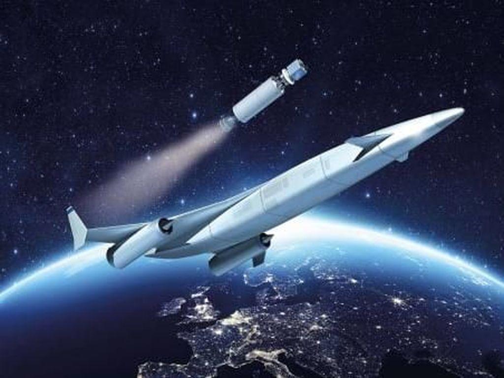 Pesawat hipersonik bermesin SABRE (CNN)