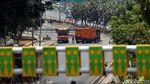 Jalan Gatsu Menuju Gedung DPR Masih Ditutup