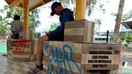 Vandalisme Halte di Kawasan Senayan Pascademo Pelajar