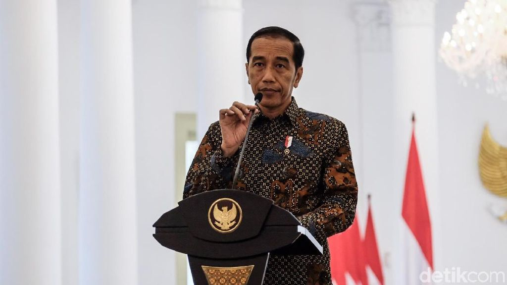 Jokowi Minta DPR Tunda Bahas Revisi UU Mineral & Batu Bara