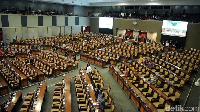 Ilustrasi rapat paripurna DPR/Foto: Lamhot Aritonang