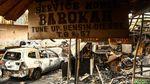 Potret sisa-sisa Kebakaran di Kemayoran yang Hanguskan Mobil